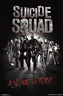 Trends International Suicide Squad Group Wall Poster 22.375