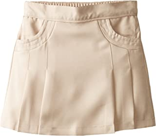 Girls' School Uniform Pleated Scooter with Pockets