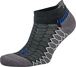 Balega Silver Antimicrobial No-Show Compression-Fit Running Socks for Men and Women