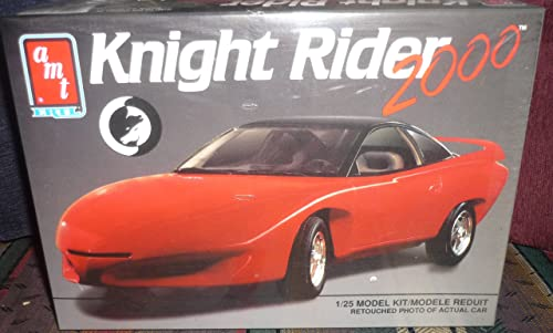 8084 AMT Ertl Knight Rider 2000 1 25th Scale Plastic Model Kit,Needs Assembly