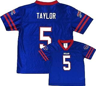 Outerstuff Tyrod Taylor Buffalo Bills Blue Home Player Jersey Toddler