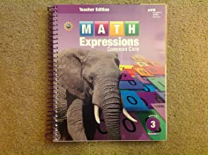 Math Expressions, Grade 3, Vol.1 (Teacher's Edition)