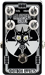 Idiotbox Blower Box Bass Distortion Limited Edition Black and White