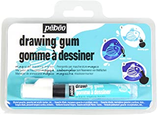 Pebeo MAGIC! Drawing Gum Marker for Kids, Masking Fluid, 4 mm