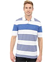 IZOD - Short Sleeve Awning Stripe Advantage Polo