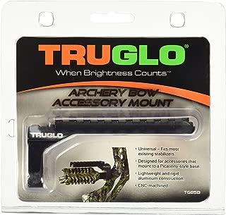 TRUGLO Picatinny Bow Accessory Mount Stabilizer Black