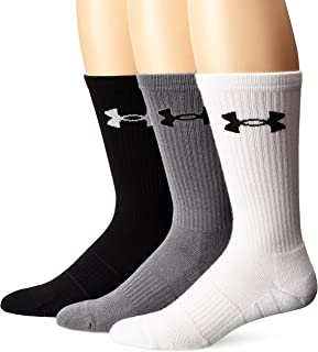 Under Armour Adult Elevated Performance Crew Socks, 3-Pairs