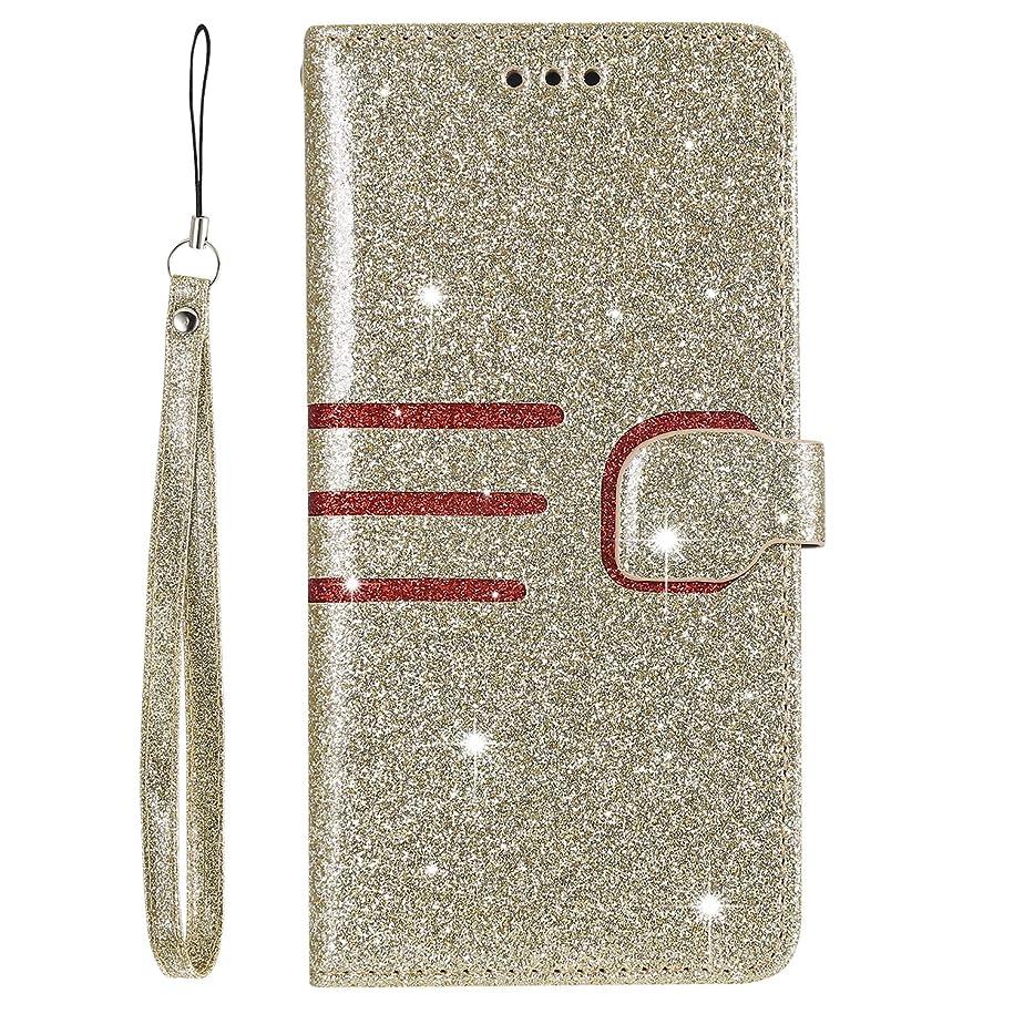 接触対応トリップLomogo iPhone XRケース 手帳型 耐衝撃 レザーケース 財布型 カードポケット スタンド機能 マグネット式 アイフォンXR 手帳型ケース カバー 人気 - LOHHA110042 金