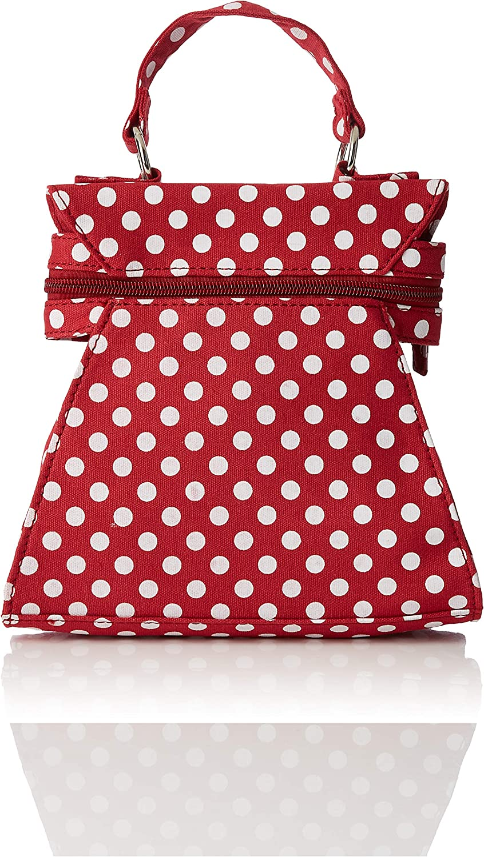 Joe Browns Womens Vintage Polka Dot Zip Bag