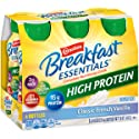 Carnation Breakfast Essentials High Protein Ready-to-Drink, Classic French Vanilla, 8 Ounce (Pack of