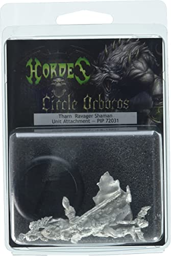 Unbekannt Privateer Press Hordes Kreis OrbGolds  tharn Verwüster Shaman Model Kit
