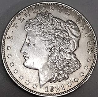 1921 P Morgan Dollar $1 About Uncirculated Dollar Au