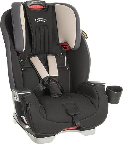 Graco Milestone All-in-One Car Seat, Group 0+/1/2/3, Aluminium: image