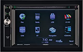 Jensen JRV9000R Touchscreen Multimedia Navigation System, Electronic AM/FM Tuner with RBDS, DVD/CD/MP3/WMA Playback, Built...
