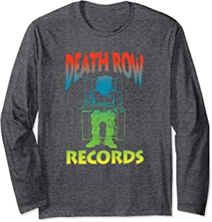 Death Row Records Gradient Color Long Sleeve T-shirt