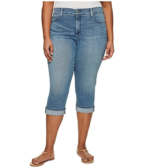 691cb024bfb NYDJ Plus Size Plus Size Marilyn Crop Cuff in Pacific at Zappos.com