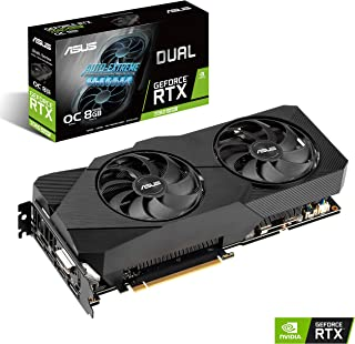 ASUS Dual GeForce RTX 2060 Super EVO V2 OC Edition - Tarjeta Gráfica (Núcleos RT, Memoria GDDR 6, FanConnect II, Tecnología Auto-Extreme)