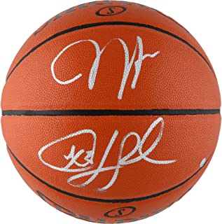 Sponsored Ad - James Harden & Chris Paul Houston Rockets Autographed Indoor/Outdoor Basketball - Autographed Basketballs