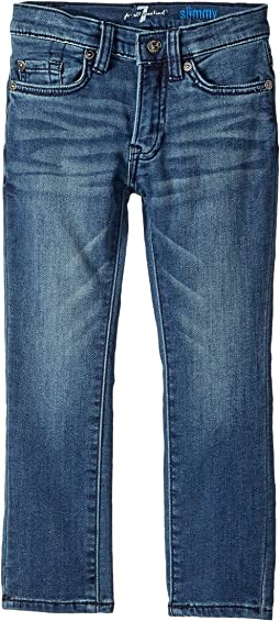 7 For All Mankind Kids - Denim Jeans in Alpha (Little Kids/Big Kids)