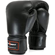 Pro Impact Boxing Gloves - Durable Knuckle Protection w/Wrist Support for Boxing MMA Muay Thai or...