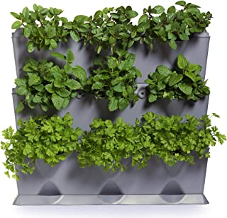 minigarden 1 Juego Vertical para 9 Plantas, Jardín Vertical