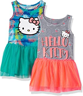 Hello Kitty Girls 2 Pack Embellished Dresses