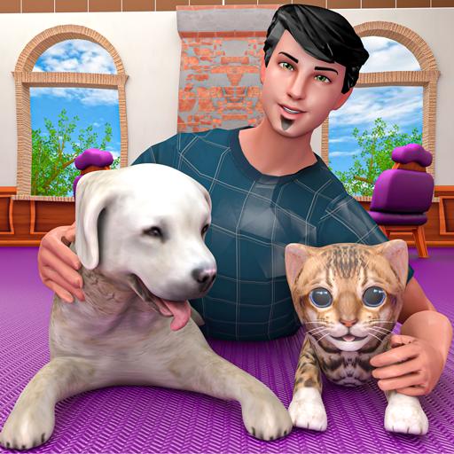il mio hotel per la cura degli animali - gioco di salvataggio e rifugio per animali, diventa un veterinario e un custode in giochi gratuiti di animali per cani e gatti per bambini