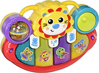 Playgro Lion Activity Kick Toy for baby infant toddler, Playgro is Encouraging Imagination with STEM/STEM for a bright future - Great start for a world of learning
