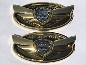 Exotic Store 2 Pieces 2010-2017 Gold Fit for Hyundai Genesis