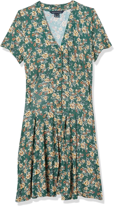 国内正規品 French Connection Women's Jersey お気に入り Dresses Wrap