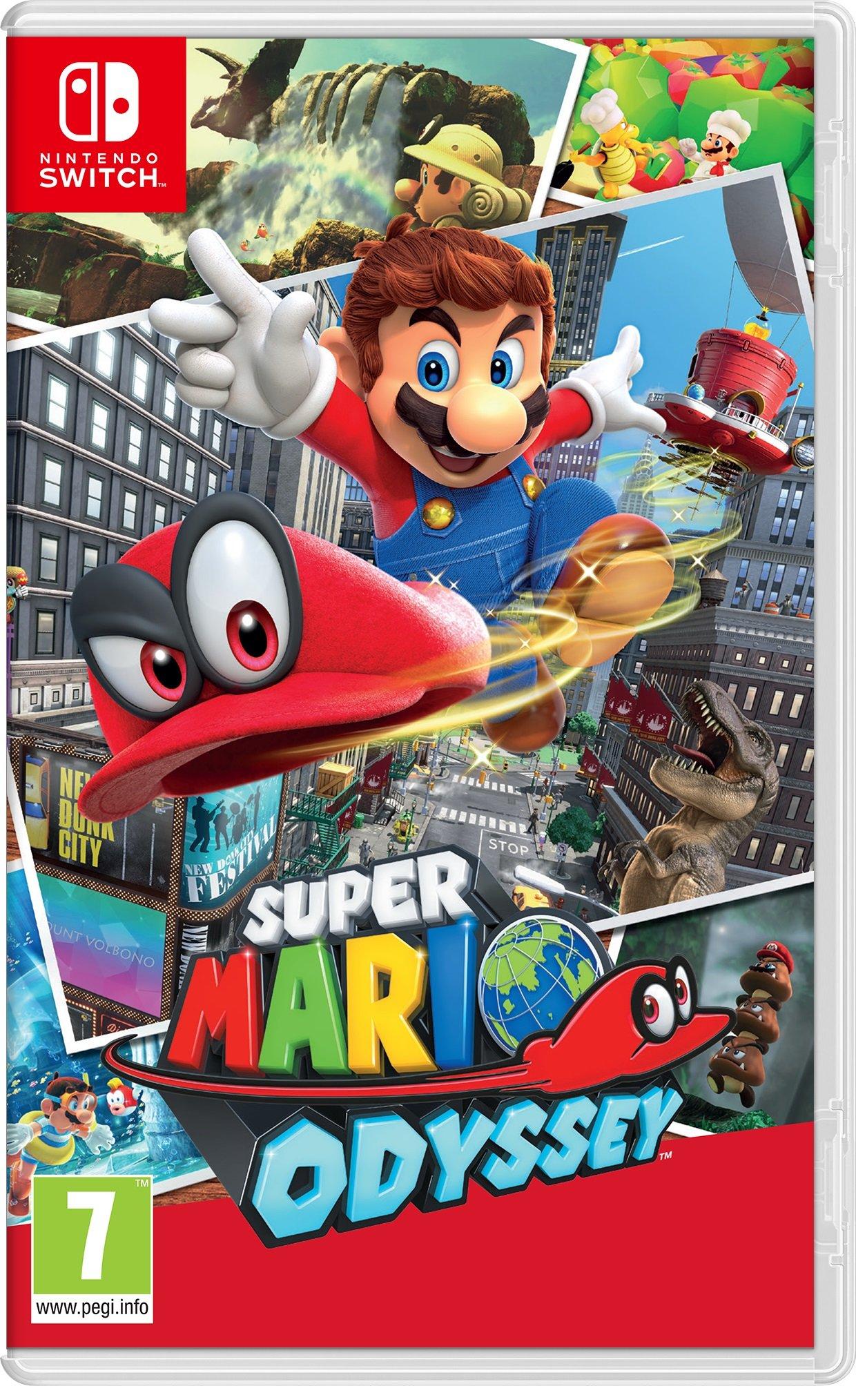 Super Mario Odyssey [Importación italiana]: Amazon.es: Hogar