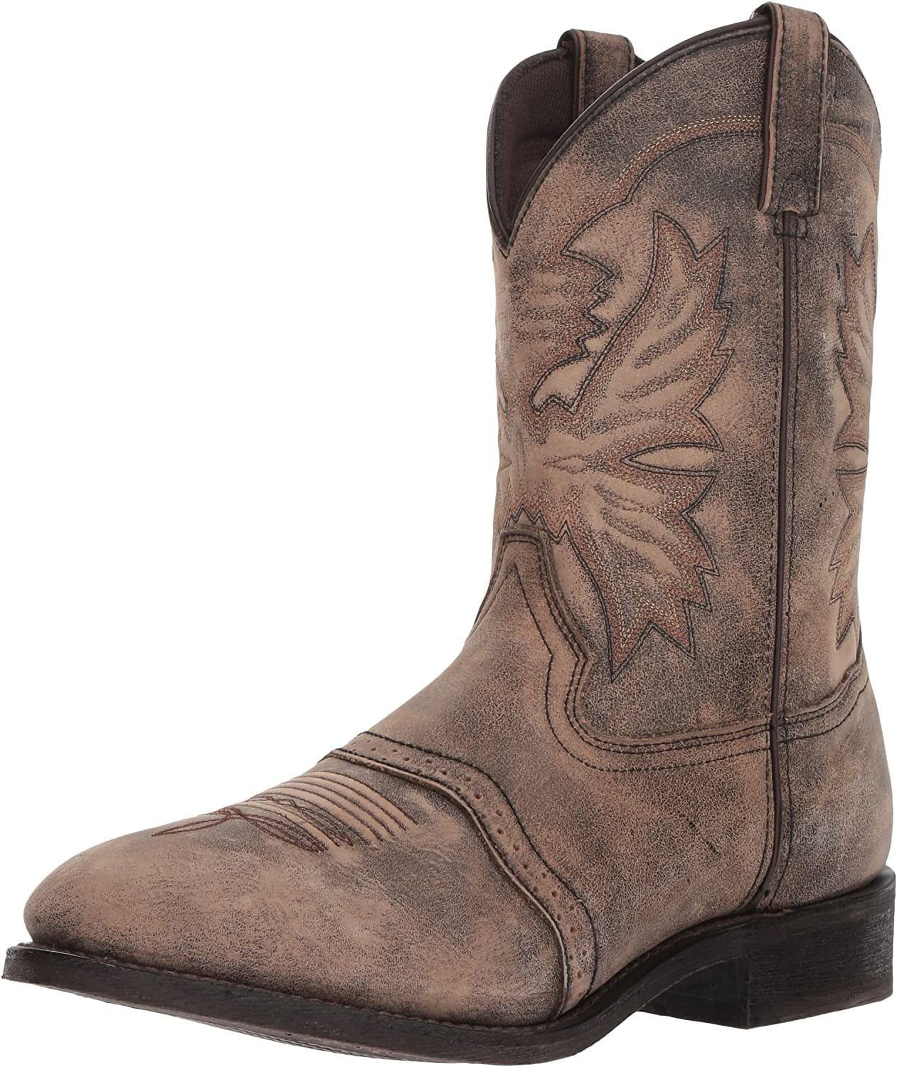 Super beauty Low price product restock quality top Ad Tec Mens 11 in Western Bo Work Tumbled Leather Cowboy Classic