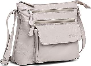 WILDHORN Leather Ladies Sling Bag   Crossbody Bag   Hand Bag  Shoulder Bag with Adjustable Strap for Girls & Women