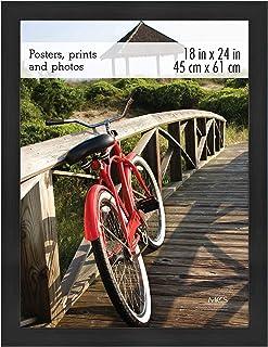 MCS 68856 Museum Poster Frame, 18 x 24 Inch, Onyx Woodgrain