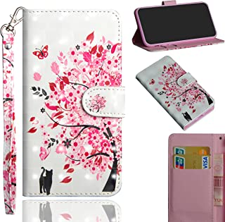 StarCity LG K30 (2019) Case, LG Arena 2 Case, 3D PU Leather Flip Wallet Case with Kickstand Card Slots/Wrist Strap for LG ...
