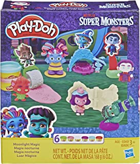 Play-Doh Super Monsters Moonlight Magic Toolset with 6 Non-Toxic Colors