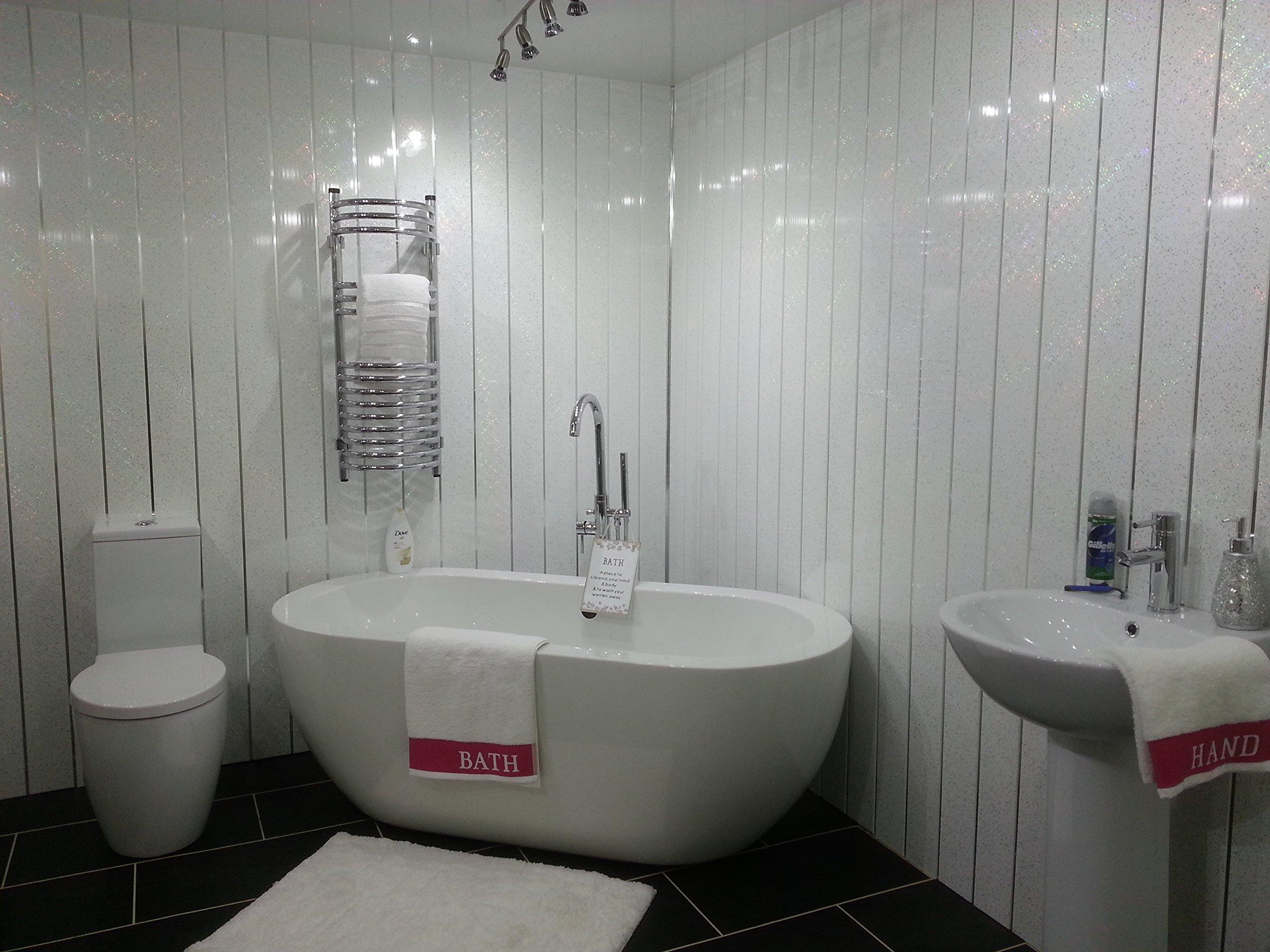 bathroom wall panels amazon co uk rh amazon co uk bathroom panels for walls uk wooden bathroom panels for walls