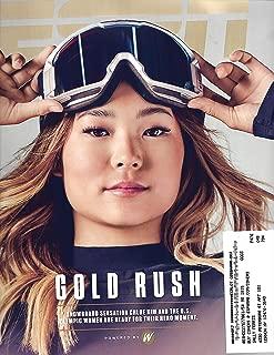ESPN Magazine (February 19, 2018) Chloe Kim Cover