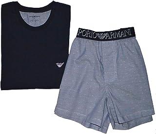 Emporio Armani Men`s T-Shirt & Boxershorts Gift Set 111339