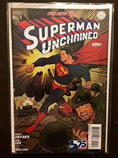 DC COMICS ESSENTIALS SUPERMAN UNCHAINED #1 REPRINT NM
