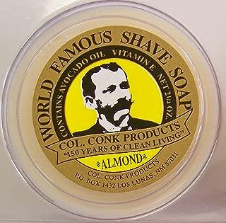 Col. Conk Almond Glycerine Shave Soap 2.25 oz