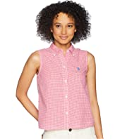 U.S. POLO ASSN. Woven Sleeveless Top