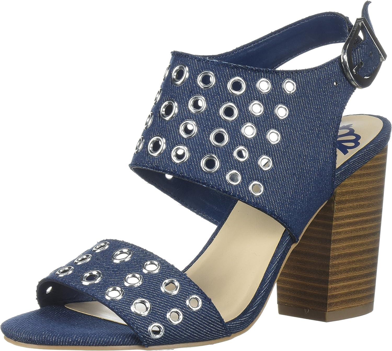 Fergalicious Womens Jolene Heeled Sandal