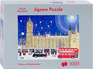 Alison Gardiner Designs - 1000 Piece Christmas Jigsaw Puzzle - Premium Made in England - Palace of Westminster