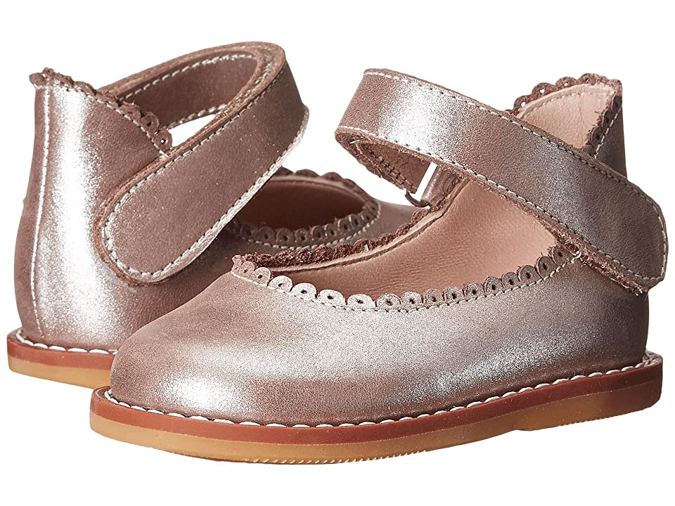 Elephantito Ballerina (Infant/Toddler) (Metallic Rose) Girls Shoes