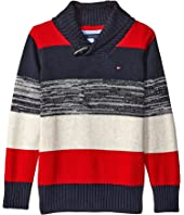 Tommy Hilfiger Kids - Ron Shawl Sweater (Toddler/Little Kids)