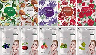 Mond'sub Instat Brightening Face Mask Sheets Combo (Pack of 10)
