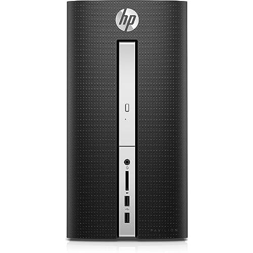 2016 HP Pavilion Desktop- 6th Gen Quad Core Intel I7-6700T Processor up to 3.6GHz, 12GB DDR4 Memory, 2TB 7200rpm HDD, DVD±RW, 802.11ac, Bluetooth, HDMI+VGA Dual Monitor Support, Windows 10