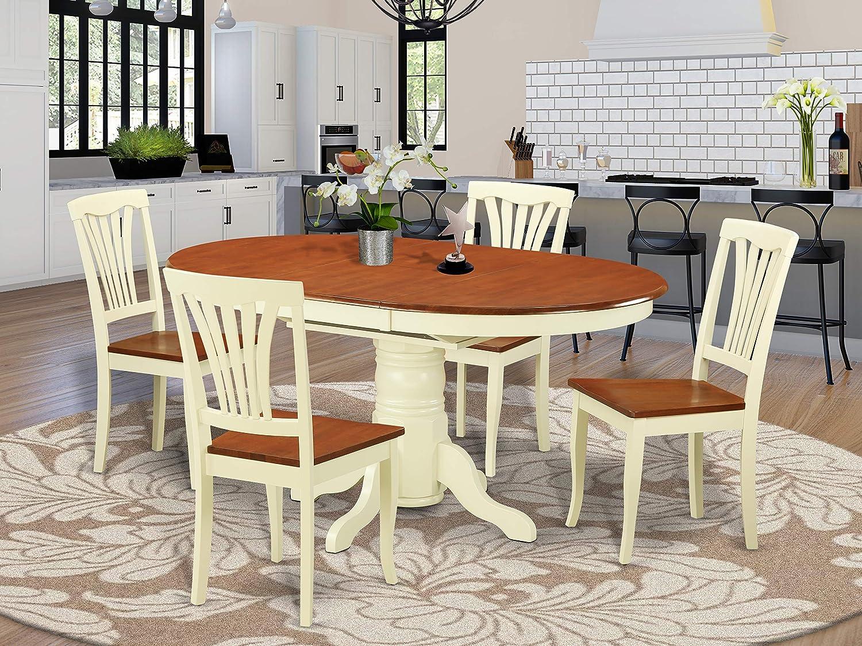 Buy East West Furniture Kitchen table set 9 Fantastic kitchen ...