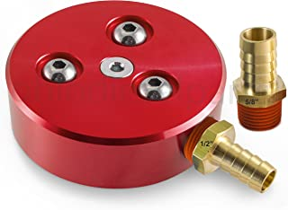 Fuel Tank Sump Kit for Diesel or Gasoline Fuel Tanks - Red Anodized